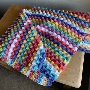 Other - 🆕 Hand Crocheted Baby Blanket